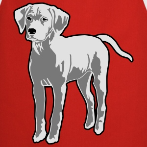 Dog Puppy Camisetas - Delantal de cocina