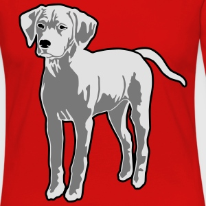 Dog Puppy T-Shirts - Frauen Premium Langarmshirt