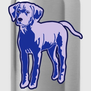 Dog Puppy T-Shirts - Trinkflasche