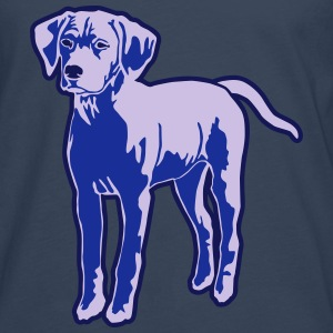 Dog Puppy T-Shirts - Men's Premium Longsleeve Shirt