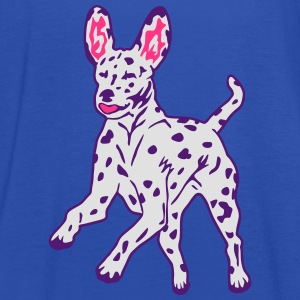 Dalmatian Dog Puppy T-Shirts - Women's Tank Top by Bella