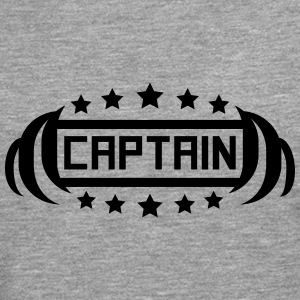Capitaine Hero Logo Tee shirts - T-shirt manches longues Premium Homme