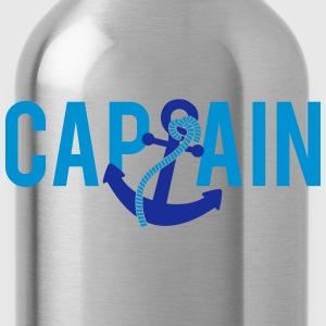Capitano Anchor Logo Magliette - Borraccia