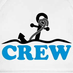 Anchor under water waves crew design T-Shirts - Baseball Cap