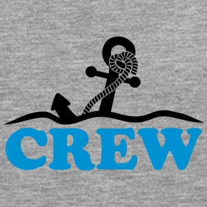Anchor under water waves crew design T-Shirts - Men's Premium Longsleeve Shirt