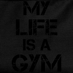 My life is a gym Tank Tops - Kids' Backpack