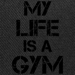 My life is a gym Tanktops - Snapback cap