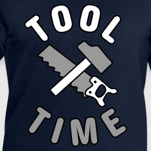 Tool Time saw and hammer T-Shirts - Men's Sweatshirt by Stanley & Stella