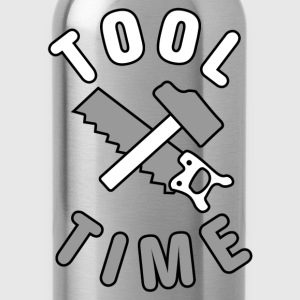 Tool Time saw and hammer T-Shirts - Water Bottle