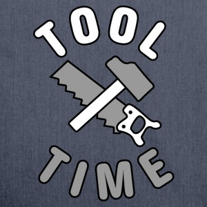 Tool Time saw and hammer T-Shirts - Shoulder Bag made from recycled material