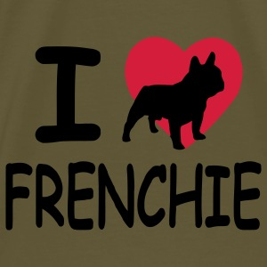 I love Frenchie - T-shirt Premium Homme