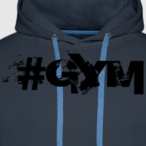 #GYM - Bodybuilding, Fitness, Crossfit  T-Shirts - Men's Premium Hoodie