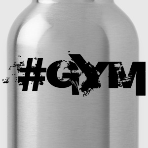 #GYM - Bodybuilding, Fitness, Crossfit  T-Shirts - Water Bottle