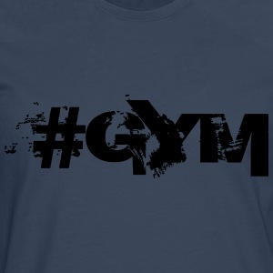#GYM - Bodybuilding, Fitness, Crossfit  T-Shirts - Men's Premium Longsleeve Shirt