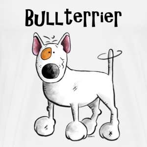 Sweet Bull Terrier - Dog - Dogs Long sleeve shirts - Men's Premium T-Shirt