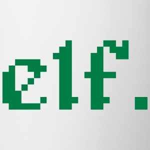 elf. 8 bit pixel gamer Accessories - Mug