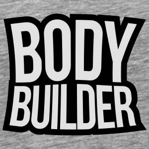 Bodybuilder Text Tops - Männer Premium T-Shirt