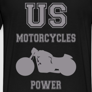 us motorcycles power 5 Sweat-shirts - T-shirt Premium Homme