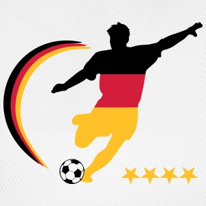Soccer Player Germany Polo Shirts - Baseball Cap