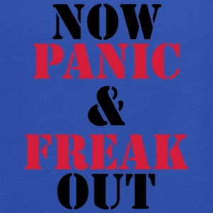 Now panic and freak out T-shirts - Dame tanktop fra Bella