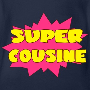 Super cousine Shirts - Organic Short-sleeved Baby Bodysuit