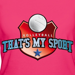 volleyball_my_sport_07201403 Langarmshirts - Frauen Bio-T-Shirt