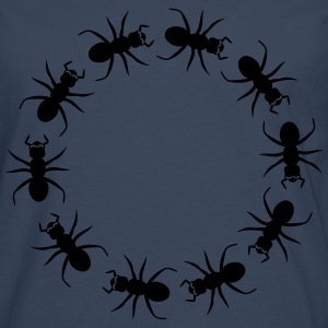 Ant insect district T-shirts - Mannen Premium shirt met lange mouwen