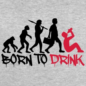 Born to Drink Evolution T-Shirts - Men's Sweatshirt by Stanley & Stella