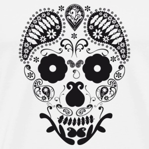 Skull decorative Buttons - Men's Premium T-Shirt