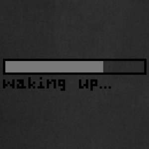 Waking up pixels Top - Grembiule da cucina