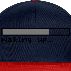 Waking up pixels Top - Snapback Cap