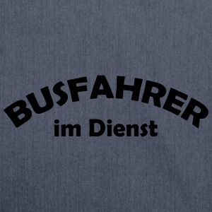 busfahrer im dienst T-Shirts - Schultertasche aus Recycling-Material