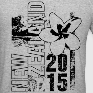 New Zealand 2015 Pullover & Hoodies - Männer Slim Fit T-Shirt