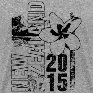 New Zealand 2015 Manga larga - Camiseta premium hombre