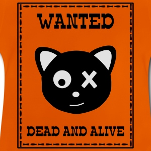 Wanted Schrödingers Katze Dead and Alive Shirts - Baby T-shirt