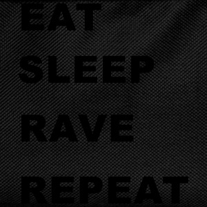 Eat, Sleep, Rave, Repeat. T-Shirts - Kids' Backpack