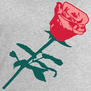 Beau design rose rouge Tee shirts - Sweat-shirt Homme Stanley & Stella
