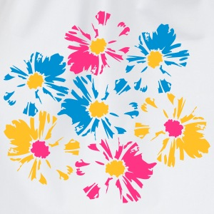 Beautiful colorful flowers bouquet T-Shirts - Drawstring Bag