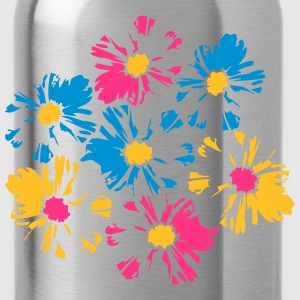 Beautiful colorful flowers bouquet T-Shirts - Water Bottle