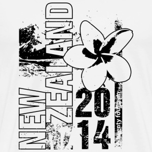New Zealand 2014 T-shirts - Premium-T-shirt herr