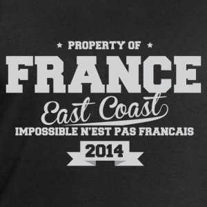 FRANCE east coast impossible n'est pas Fr Tee shirts - Sweat-shirt Homme Stanley & Stella