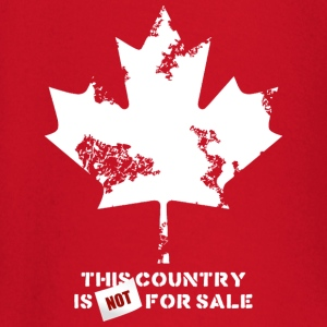 Canada, this country is not for sale Tee shirts - T-shirt manches longues Bébé