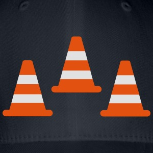 Traffic Cones T-Shirts - Flexfit Baseball Cap