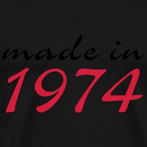 made in 1974 - Männer Premium T-Shirt