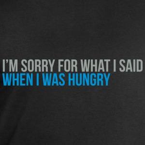 when i was hungry T-Shirts - Men's Sweatshirt by Stanley & Stella