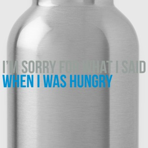 when i was hungry Tee shirts - Gourde