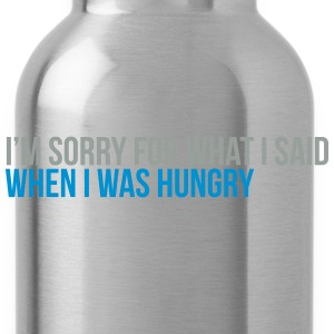when i was hungry T-Shirts - Water Bottle