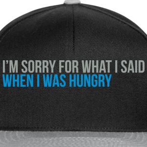 when i was hungry Tee shirts - Casquette snapback