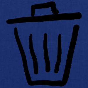 Trashcan Icon T-shirts - Tygväska