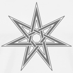 Fairy Star, Magical Power Pagan, Wicca, Witchcraft T-Shirts - Men's Premium T-Shirt